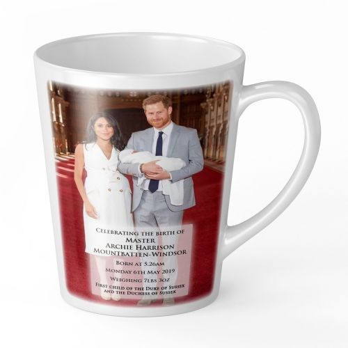 12oz Royal Baby Master Archie Harrison Mountbatten-Windsor Novelty Gift Latte Mug